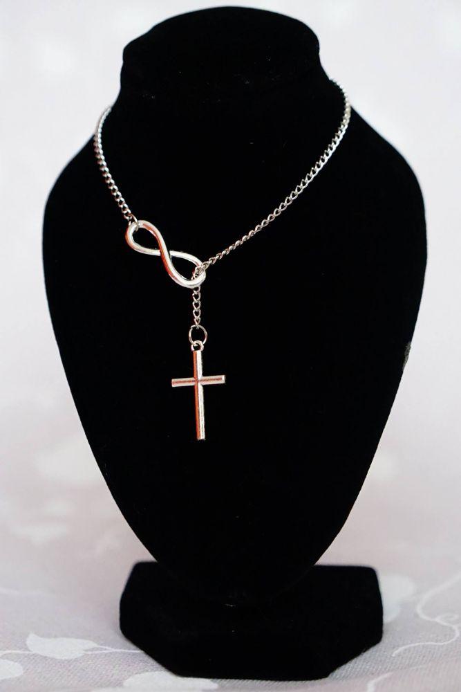 Provlékací řetízek s křížem