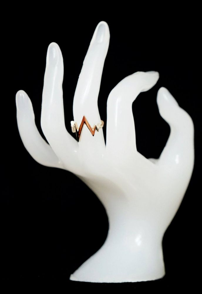 Zlatý PULS prsten